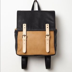 Free People Faux Leather Backpack